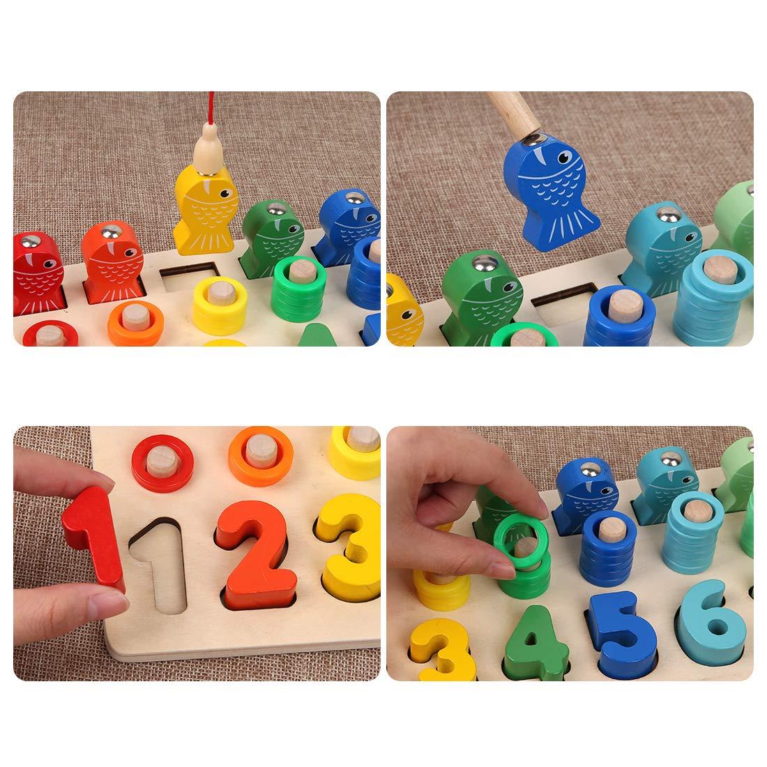 puzzle de bloques montessori desarrollo del juego