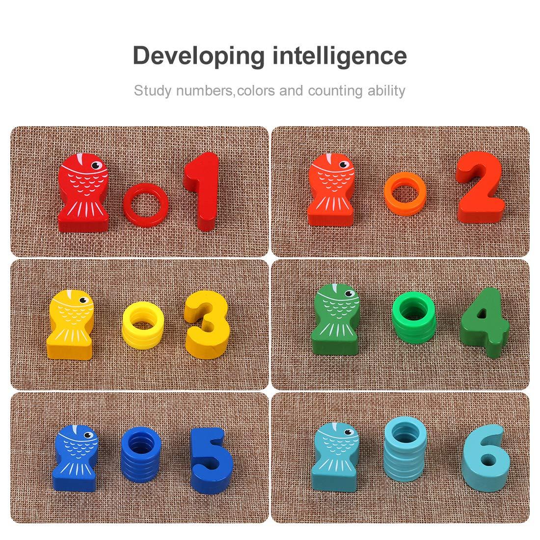 puzzle de bloques montessori piezas
