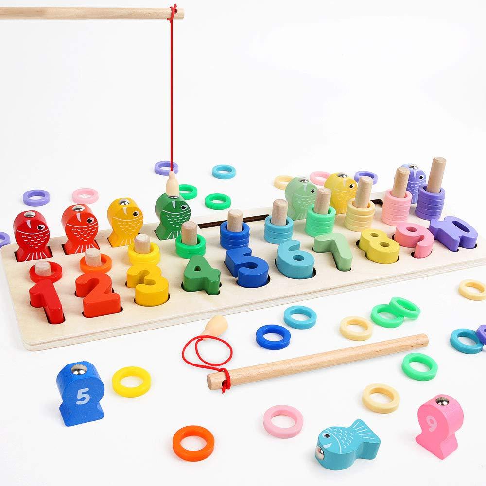 puzzle de bloques montessori