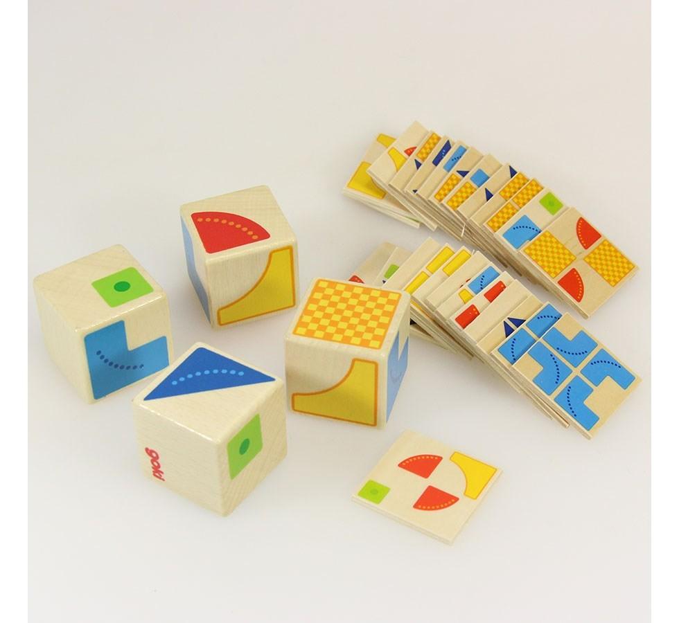 puzzle kubus montessori 3