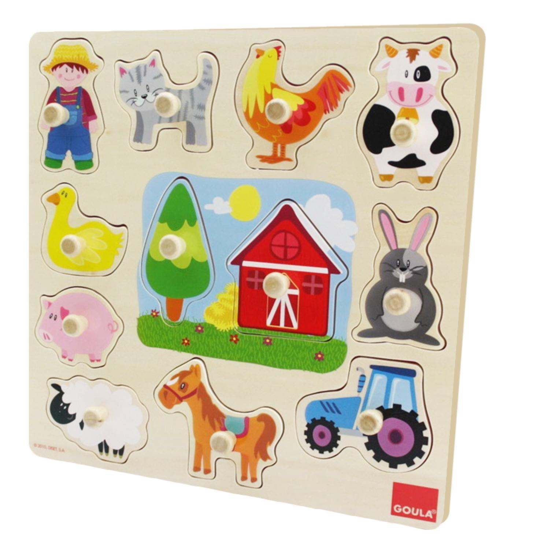 puzzle montessori granja 2