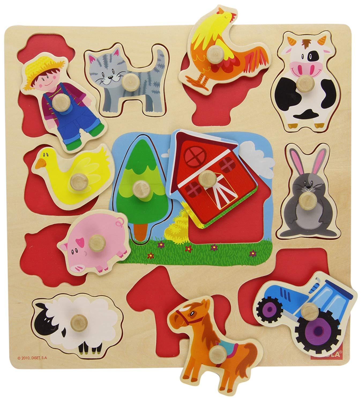 puzzle montessori granja 3