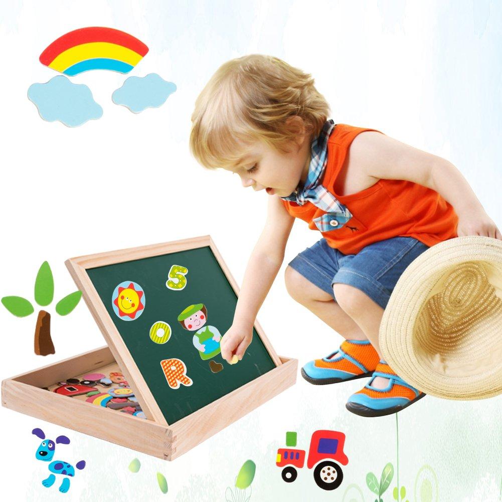 puzzle montessori magnético 3