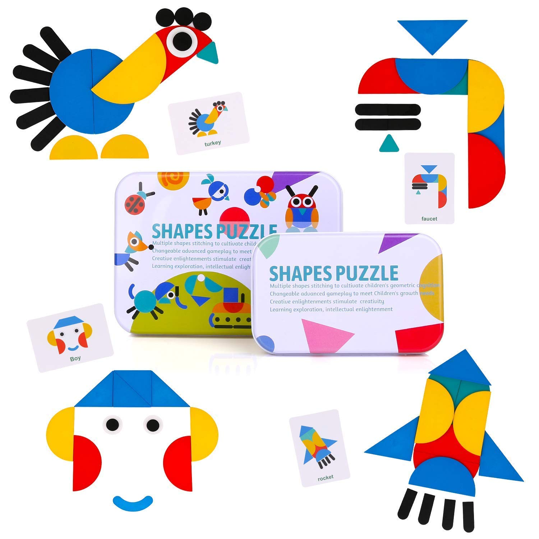 puzzle tangram montessori 2
