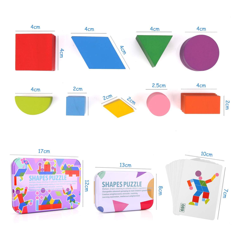 puzzle tangram montessori medidas