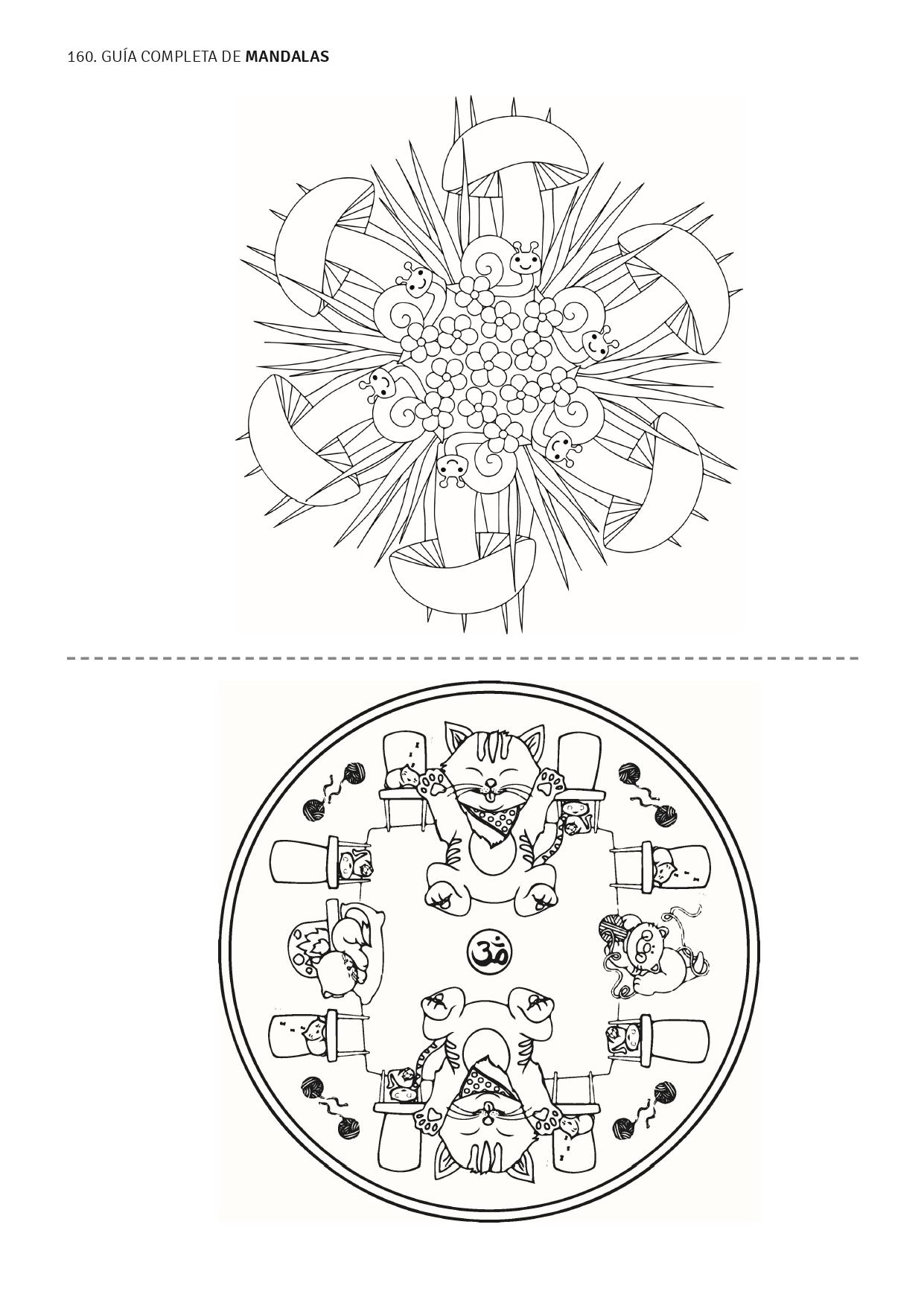 Mandalas para niños - Formas y Animales_page-0001