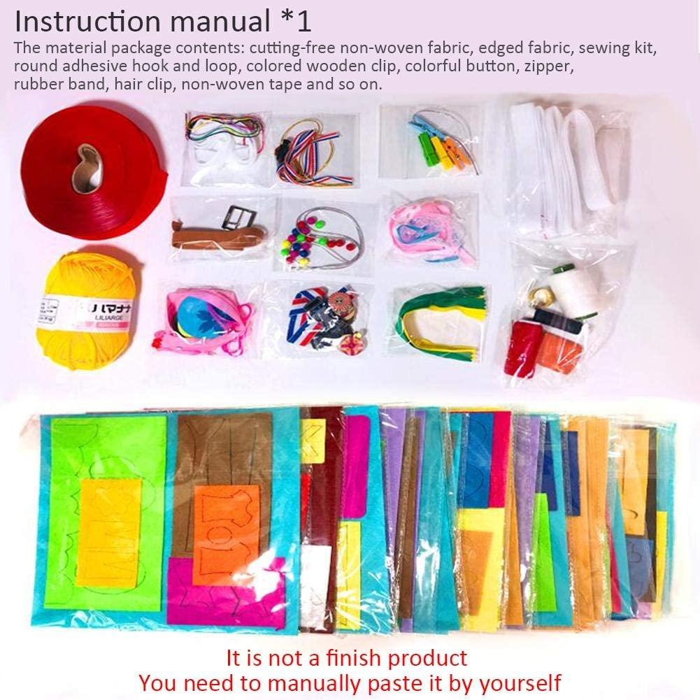 Pack crea tu propio libro de tela sensorial