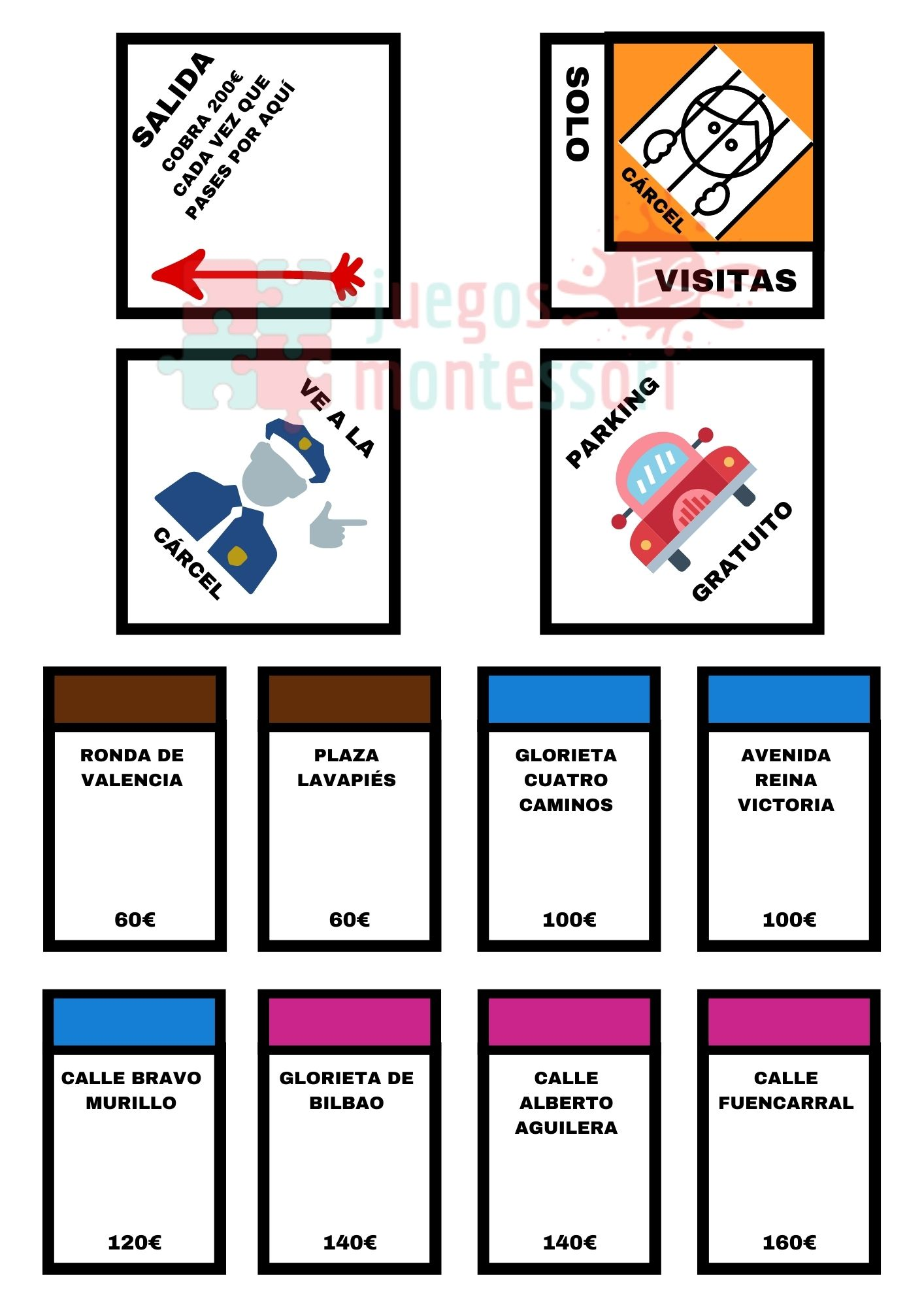 Monopoly completo para imprimir