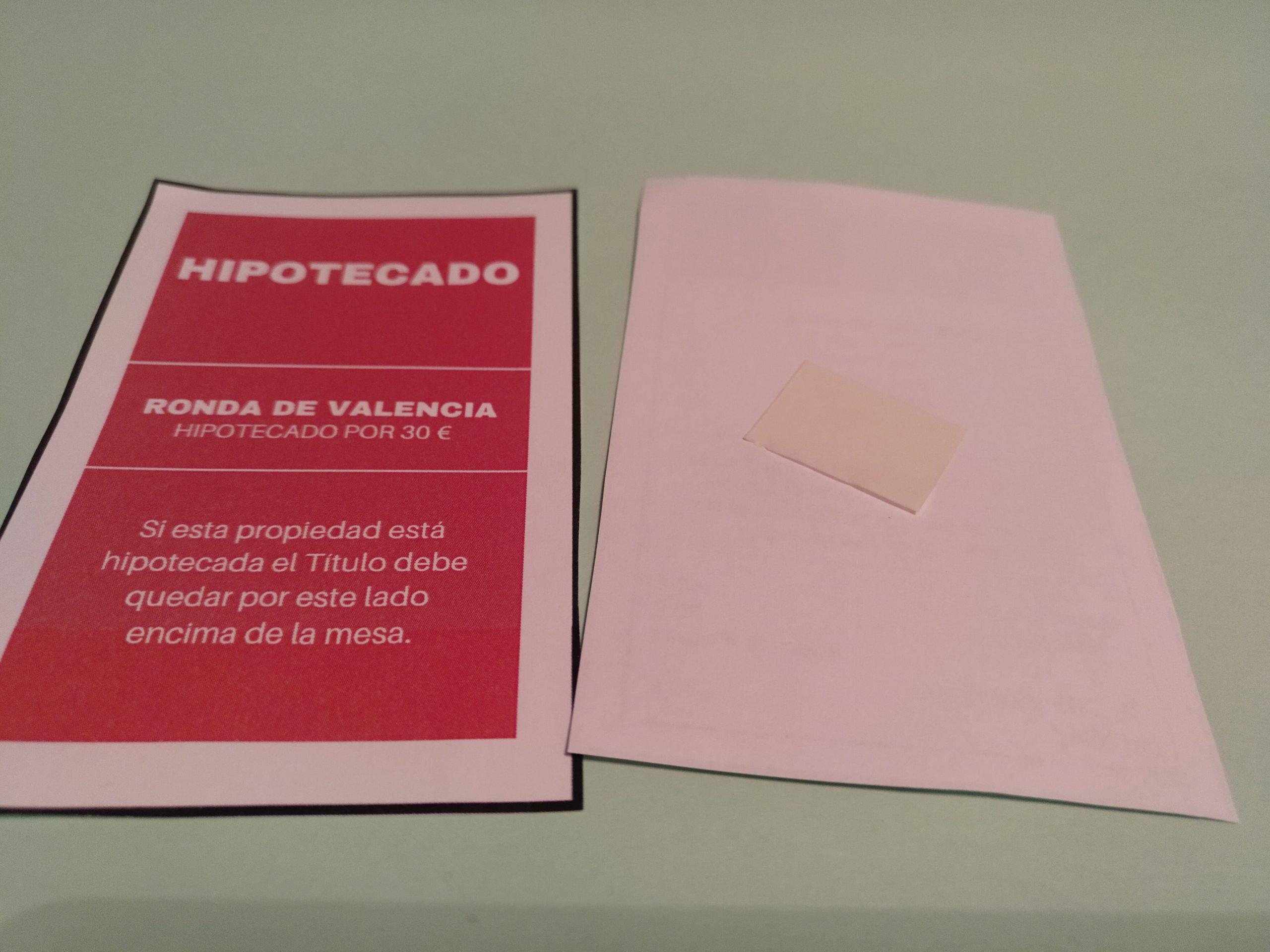 Tarjeta imprimible Monopoly paso 2