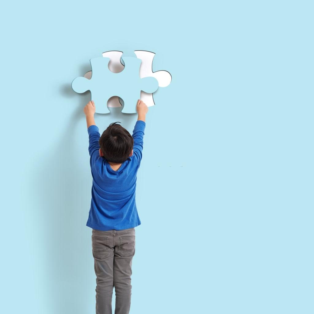 Ventajas de los puzzles verticales de construcción para niños