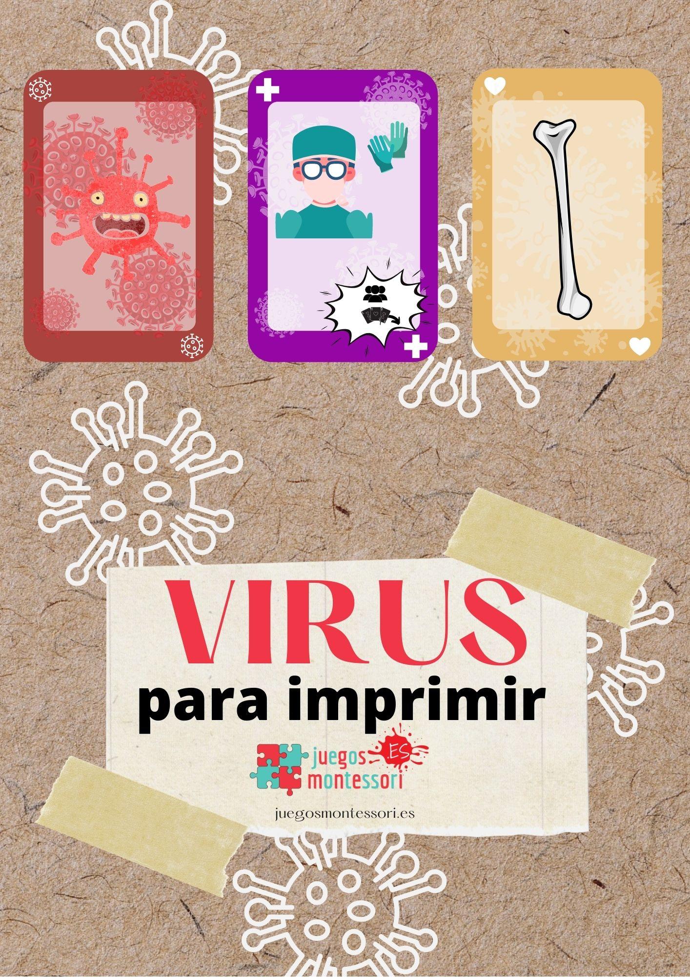 Virus para Imprimir 🖨️ | 🦠 El Juego Más Contagioso en PDF