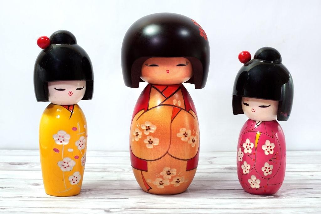 Muñecas del mundo: kokeshi