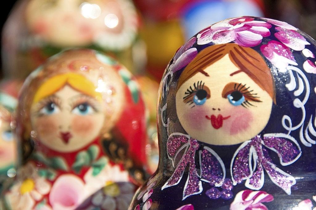 Muñecas del mundo-matrioshkas