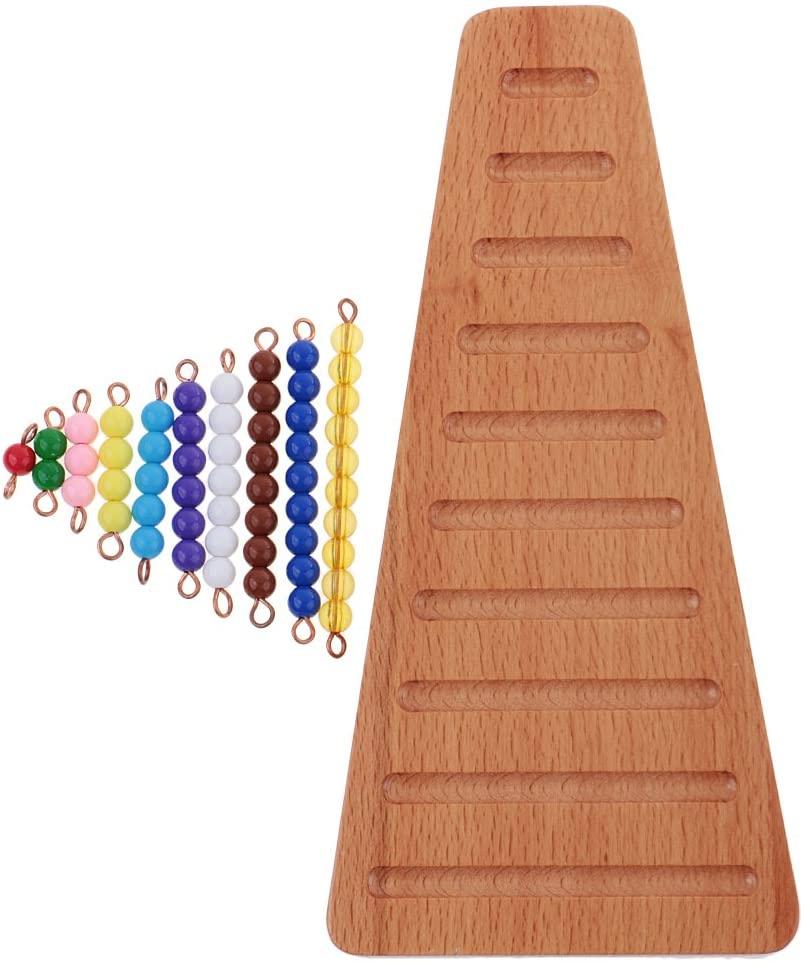 Escalera perlas Montessori