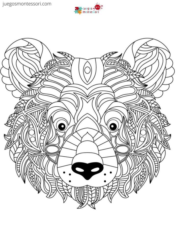 Mandala de oso