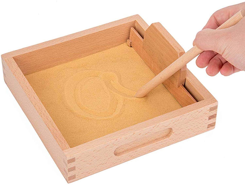 Cajas de Arena Montessori | Bandejas Educativas de Arena para aprender y divertirse