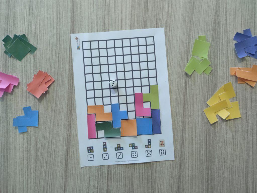 Tetris imprimible