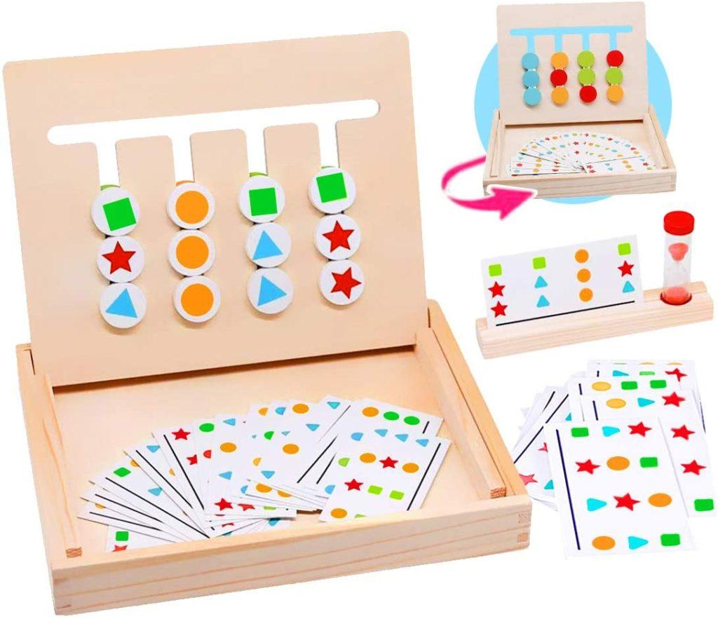 Juego de patrones montessori 1